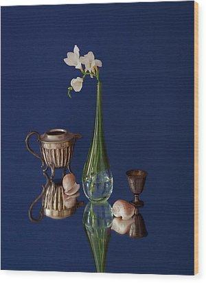 Fresia Et Argenterie Wood Print