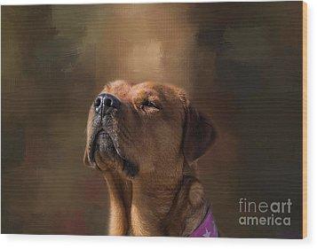 Frieda Wood Print