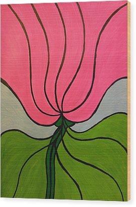 Friendship Flower Wood Print