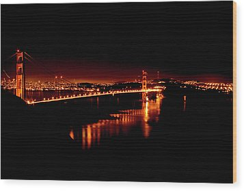Frisco Calm Wood Print by Michael Cleere