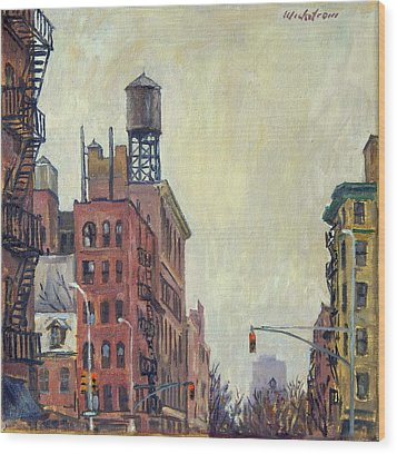 From Orchard Street Nyc Wood Print by Thor Wickstrom