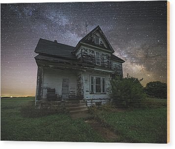 Wood Print featuring the photograph Front Porch  by Aaron J Groen