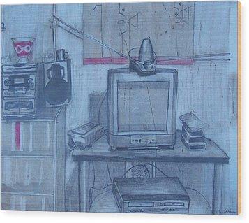Front Room Wood Print