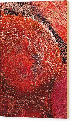 Frozen Balls Four Wood Print by Bob Orsillo