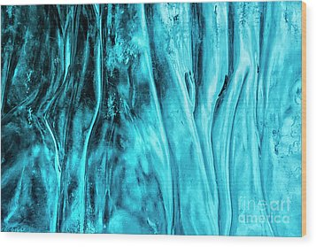 Wood Print featuring the photograph Frozen Wonder by Sandra Bronstein