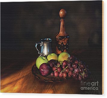 Fruit And Spirit Wood Print by Mark Miller