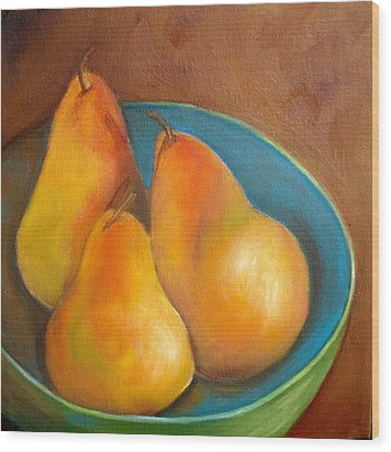 Fruit Of The Spirit--sold Wood Print by Susan Dehlinger