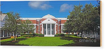 Fsu College Of Law Wood Print