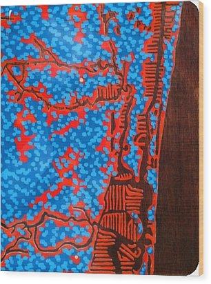 Ft. Lauderdale Resin   Wood Print by Jason Charles Allen