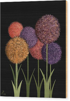 Fun Colours Wood Print