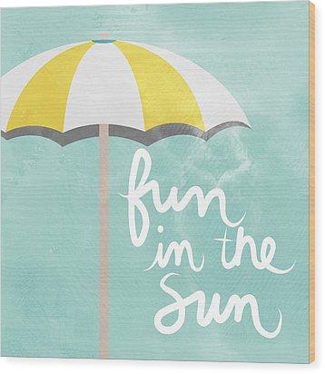 Fun In The Sun Wood Print