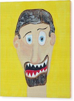 Funist Wood Print by Sal Marino
