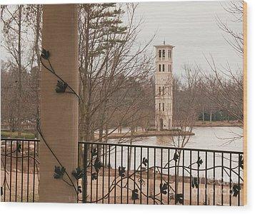 Furman Bell Tower 1 Wood Print