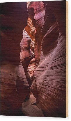 Wood Print featuring the photograph Further In The Canyon by Jon Glaser
