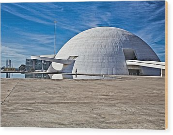 Wood Print featuring the photograph Future Dome by Kim Wilson