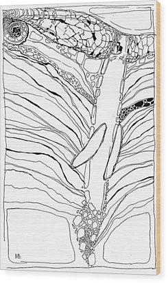 G 1 Wood Print by Valeriy Mavlo