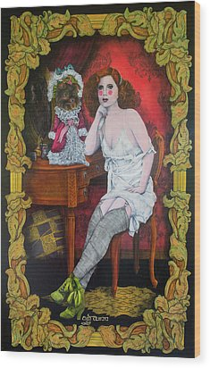 Gabriela Y Gabriela Wood Print