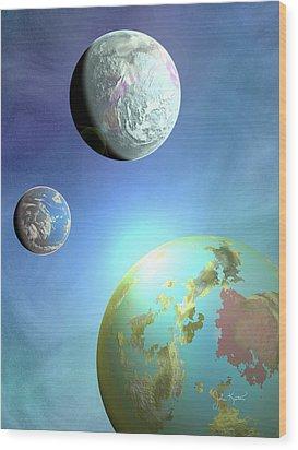 Galaxy 2 Wood Print by John Keaton