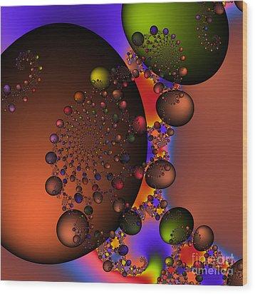 Galaxy 213 Wood Print by Rolf Bertram