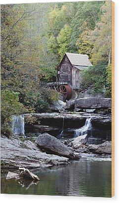 Galde Creek 2 Wood Print by Ann Bridges