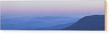 Galilee Mountains Sunset Wood Print by Yoel Koskas