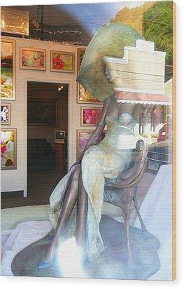 Gallery Window Wood Print