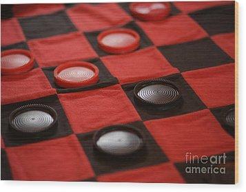 Games Wood Print by Linda Shafer