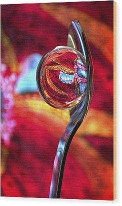 Ganesh Spoon Wood Print