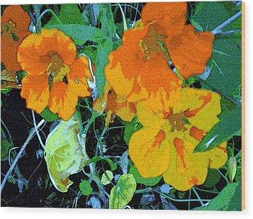 Garden Flavor Wood Print
