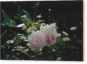 Garden Wood Print by Gillis Cone