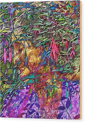 Garden Of Forgiveness Wood Print by Kurt Van Wagner