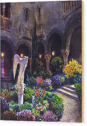 Garden Wood Print by Valeriy Mavlo