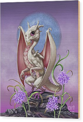Garlic Dragon Wood Print by Stanley Morrison