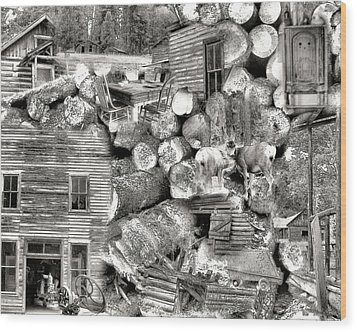 Garnet Montana Wood Print