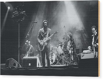 Gary Clark, Jr. Playing Live Wood Print