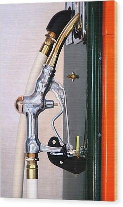 Gas Pump Handle Wood Print