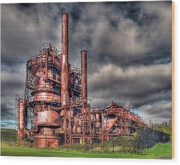 Gas Works Park - Seattle Wood Print