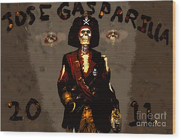 Gasparilla 2011 Wood Print by David Lee Thompson
