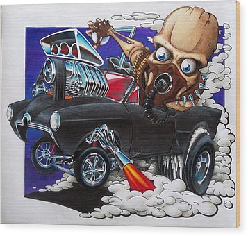 Gasser Wood Print by Jason Hunt