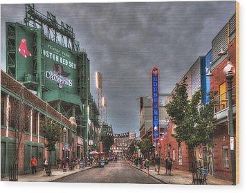 Gate E - Fenway Park Boston Wood Print by Joann Vitali