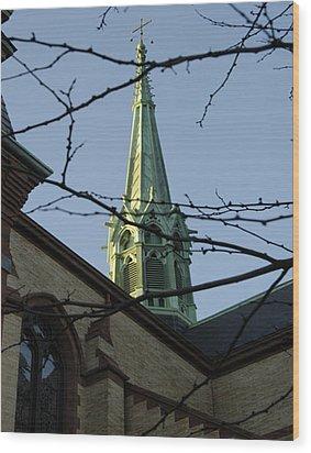 Gate Of Heaven Church Wood Print