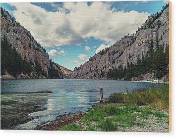 Gates Of The Mountains Wood Print