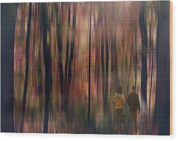 Gateway To A Dream Wood Print