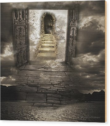 Gateway To Heaven Wood Print by Andy Frasheski