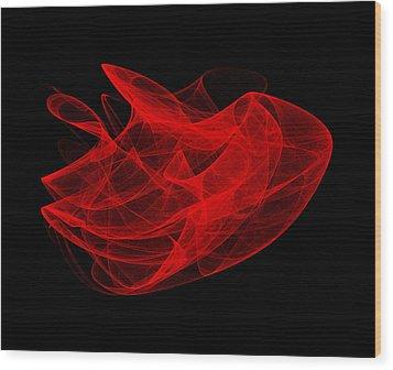 Gathering Wave I Wood Print
