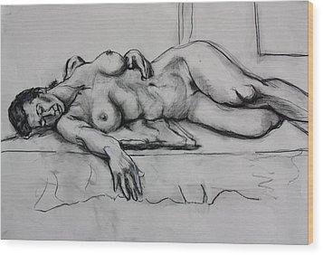Ge Wood Print by Dan Earle