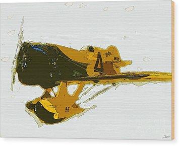Gee Bee Model Z Wood Print by David Lee Thompson
