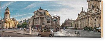 Gendarmenmarkt Platz / Berlin Wood Print