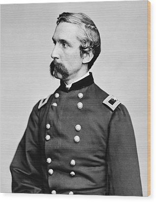 General Joshua Chamberlain  Wood Print by War Is Hell Store