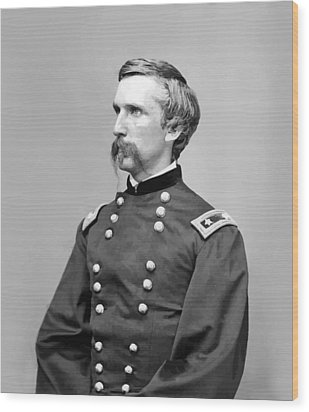General Joshua Lawrence Chamberlain Wood Print by War Is Hell Store